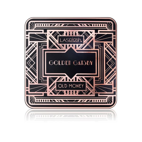 Golden Gatsby Old Money Highlighting Palette