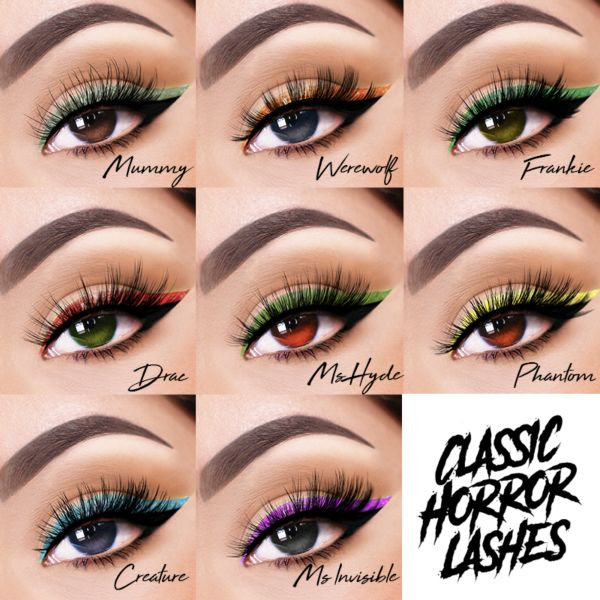Classic Horror Lash and Lip Collection